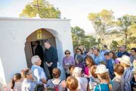 Sant Josep festeja el centenario de sa Capelleta d'en Vicent d'en Serra