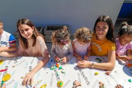 Horas lectivas de voluntariado en el colegio S'Olivera de Puig d'en Valls
