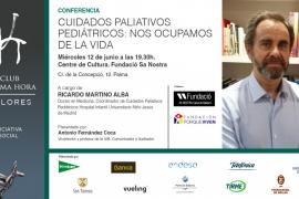 El doctor Ricardo Martino imparte una conferencia sobre cuidados paliativos pediátricos en Palma