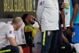 Neymar se queda sin Copa América tras lesionarse el tobillo en el amistoso contra Catar