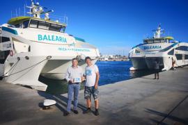 Baleària recibe el certificado Plastic Free, que confirma su compromiso de eliminar el plástico