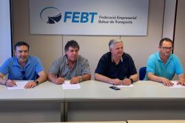 Patronal y sindicatos alcanzan un acuerdo para el convenio del transporte discrecional en Baleares