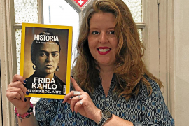 Rebecca Beltrán: «El éxito de esta biografía es un sueño porque he sido 'fridakaliana' desde pequeñita»
