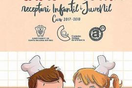 Escolares de Santa Eulària editan un libro de cocina con productos tradicionales