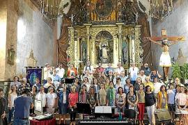 El Cor Ciutat d'Eivissa inicia la grabación de un CD para celebrar su 25º aniversario