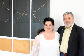 La pintora Josefina Torres apuesta por el arte japonés Kintsugi para su exposición en Mallorca