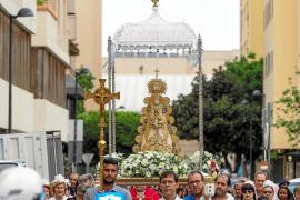 Ibiza se convierte en una pequeña Andalucía gracias a la Virgen del Rocío