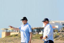 Mariano Rajoy, un expresidente de vacaciones en las Pitiusas