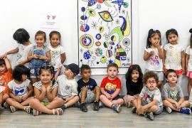 El C19 de Ibiza se llena con las obras de los jóvenes artistas del CEIP Portal Nou