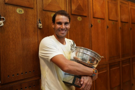 Rafael Nadal: «Mi mayor virtud es mi entorno»