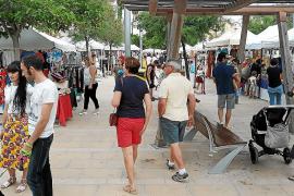 El mercadillo se ha celebrado durante los últimos cuatro veranos en Ciutat Jardí