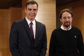 Pablo Iglesias desvela que Pedro Sánchez le ha ofrecido un «Gobierno de cooperación»