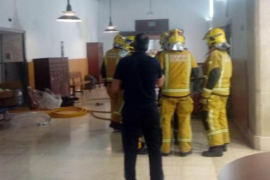 Incendio en el Hospital General de Palma