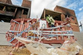 El incendio de es Viver se llevó por delante la vida de Rossanna y dejó a unas 80 personas sin techo