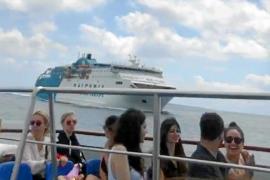 Aquabus despide al capitán del 'Kontiki II' tras el incidente marítimo con un barco de Baleària