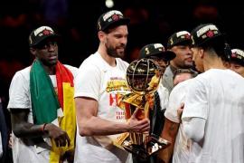 Marc Gasol, Ibaka y Scariolo conquistan el anillo de la NBA con Toronto Raptors