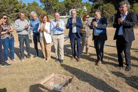 Colocan la primera piedra del colegio ses Planes en Cala de Bou