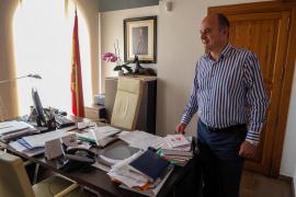 Último día de Vicent Marí como alcalde de Santa Eulària, en imágenes. Fotos: Marcelo Sastre