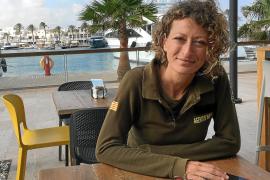 Pepita Cardona: «Los primeros cuatro meses cuando pisaba tierra estaba como desorientada»