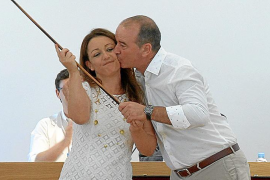 Alejandra Ferrer asume la presidencia del Consell de Formentera y augura un «gobierno estable»