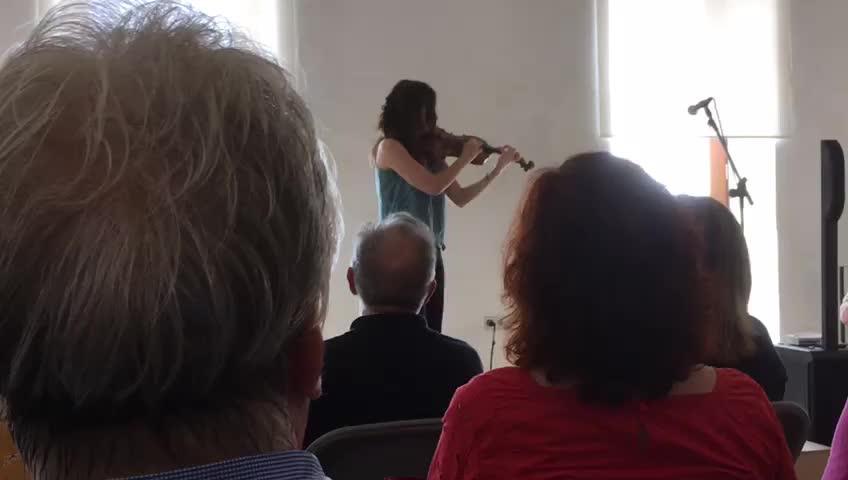 Violín barroco y poesía para iniciar la última jornada del Festival 'Lluna de Juny'