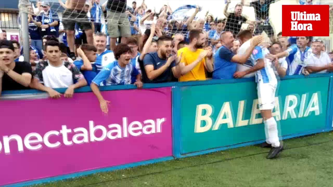 El Atlético Baleares, a 180 minutos del ascenso a Segunda