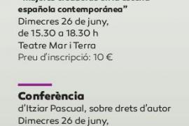 Masterclass y conferencia de la dramaturga Itziar Pascual en el Teatre Mar i Terra