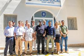 Serra afirma que trabajarán de la mano de los funcionarios en beneficio de Sant Antoni