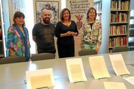 Las cartas entre Macabich y Samper para componer el himno a la Virgen llegan a Ibiza