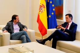 Sánchez se reúne con Iglesias pero no avanzan