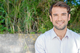 Eric Jareño, alcalde de Llucmajor, fue modelo