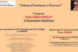 Galeria d'Artefactes i Persones presenta 'Siau Benvingut' en Sa Congregació