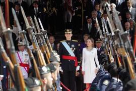 Casado y Rivera destacan la labor de Felipe VI en el quinto aniversario de su proclamación como Rey