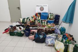 La Policía Local de Sant Antoni interpone 14 denuncias por venta ambulante o tenencia de drogas