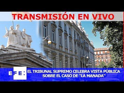 Así se ha vivido la vista pública sobre el caso de La Manada en el Supremo