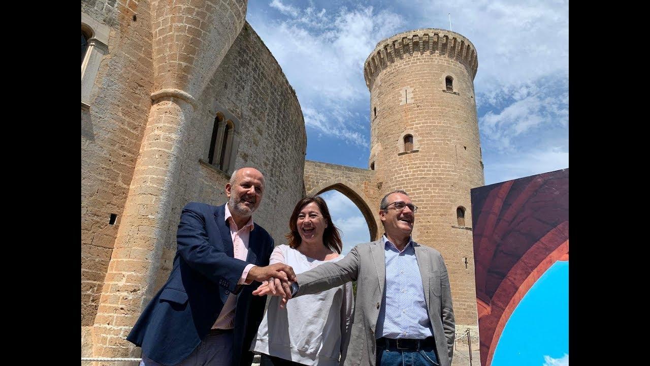 PSIB-PSOE, Més y Podemos sellan un pacto para gobernar en Baleares