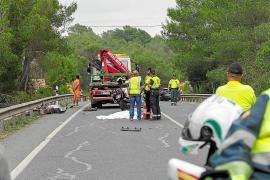 Muere un motorista canadiense de 26 años en un accidente de tráfico en Sant Rafel