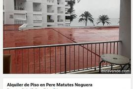 El alquiler de un piso de dos habitaciones en verano en Ibiza cuesta de media 2.500 euros