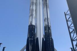SpaceX lanza su mayor cohete, el Falcon Heavy