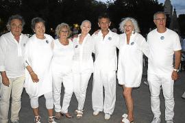 La X Cena en Blanco, en sa Feixina
