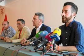 Ciudadanos y PSOE se reunieron ayer durante tres horas en la sede del Consell d'Eivissa