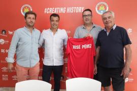 José Pérez ya es oficialmente técnico del CD Ibiza