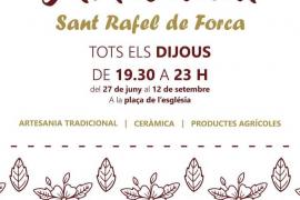Hoy comienza la muestra artesanal de Sant Rafel