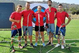Cinco arqueros ibicencos buscarán la clasificación para el Mundial