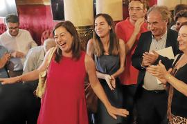 Armengol repite como presidenta en una jornada marcada por la gran crisis de Més