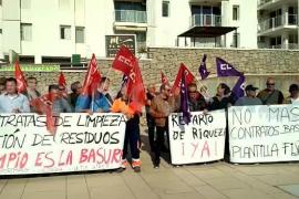 Los sindicatos plantean acudir al TAMIB por el conflicto de basuras de Sant Antoni