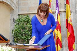 La crisis de Més condiciona la toma de posesión de Armengol como presidenta