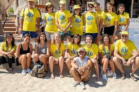 Creatividad y concienciación ambiental en la playa de Cala Llonga