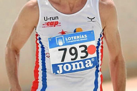 Manuel Palá, bronce en los 100 metros lisos