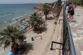 Paseo marítimo de la playa de Punta Prima